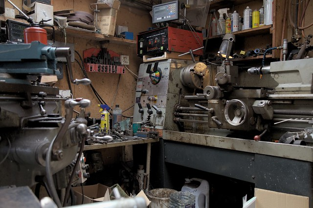Tim's Colchester Lathe