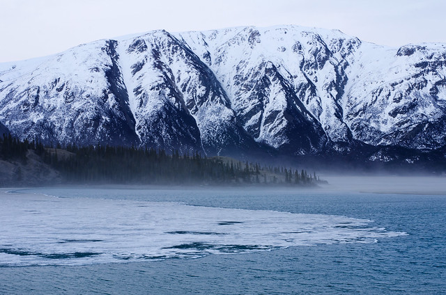 Kluane mist and ice