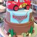 Lightening McQueen Cake - <span>www.cupcakebite.com</span>