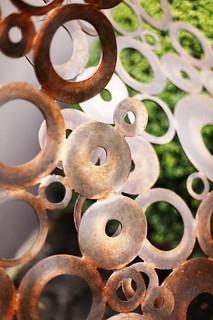 Copper Sculpture Up Close