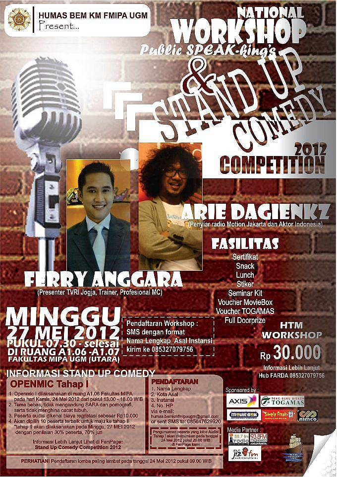 lomba standup comedy