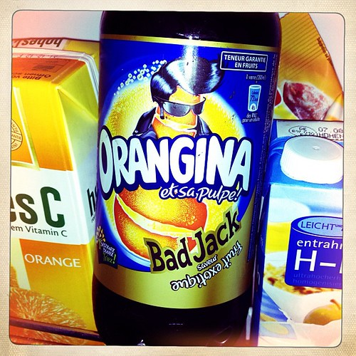 Orangina Bad Jack! I love Cora Forbach. #france