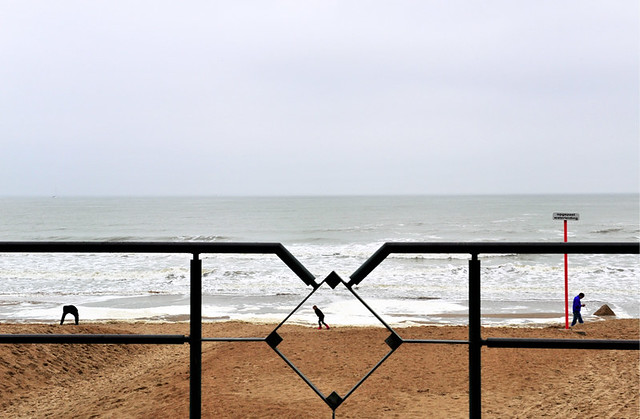Ostende - Minimalism in Street Photography