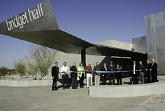 Bridget Hall Ribbon Cutting Ceremony, CGCC Williams