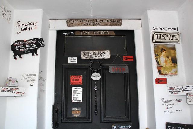 An Eccentric English pub