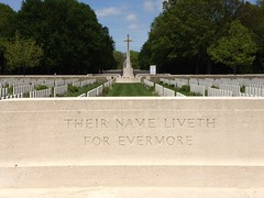 Delville Wood WW1 cemetery in Longueval (France 2012)