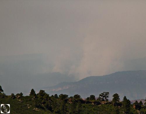 fire smoke wildlandfire sunriseminefire