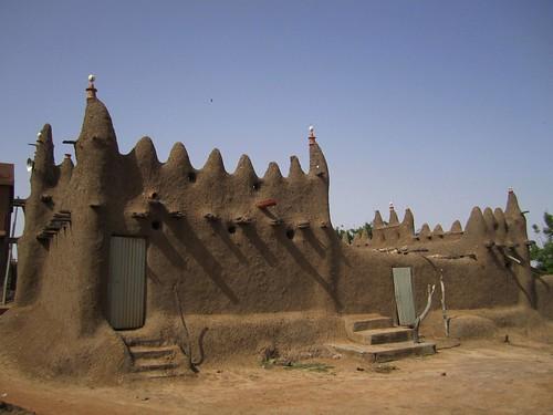 Mezquita donde tuvo lugar la boda islámica.
