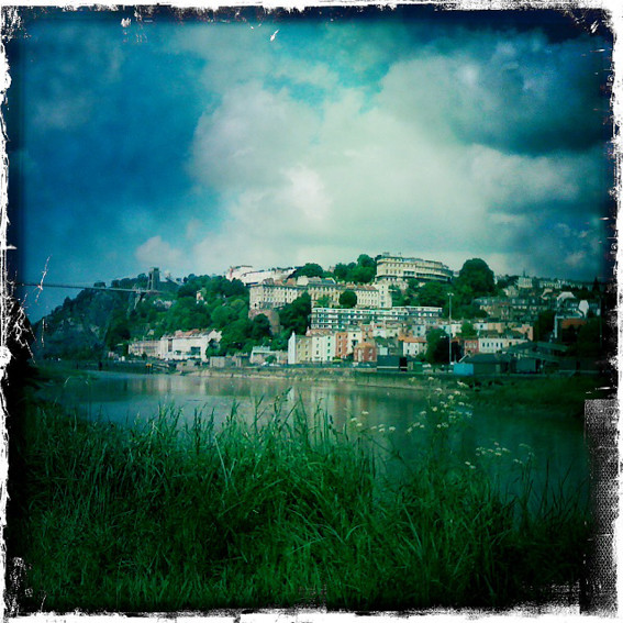 View of Clifton from the River