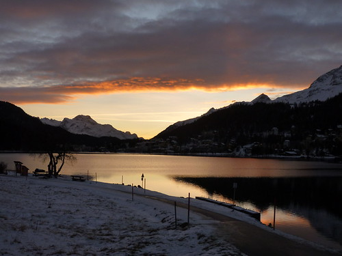 sunset st switzerland moritz