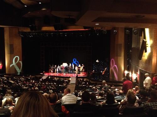Penn & Teller stage