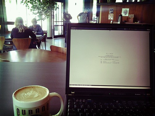 Coffee and Vim by nullrend