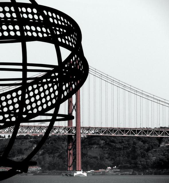 Bridge of the 25th of April, Belem, Lisbon, Portugal