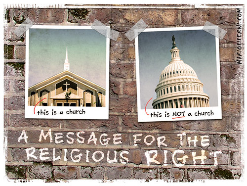 A Simple Message for the Religious Right