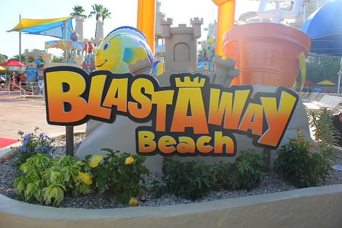 Blastaway Beach at Wet n Wild Orlando