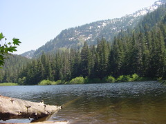 Barclay Lake by United States Forest Service