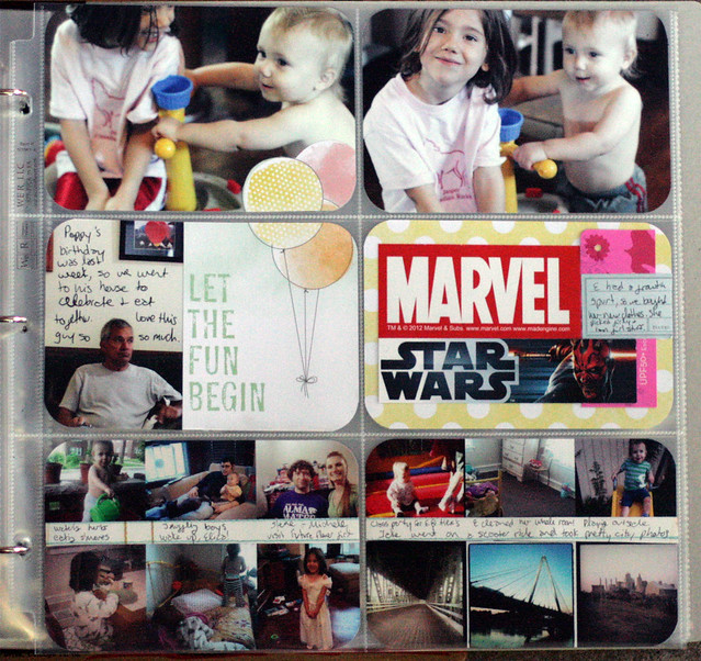Project Life 2012 | Week 24