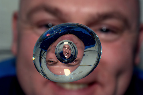 André Kuipers enjoying his last few days of weightlessness onboard the ISS