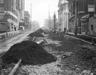 Seneca Street widening, 1935