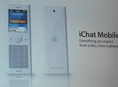 iChat iPhone