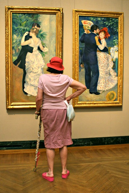 Renoir's Dancers, and an admirer