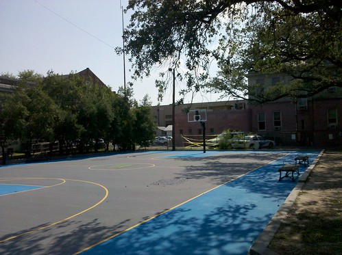 Painted court