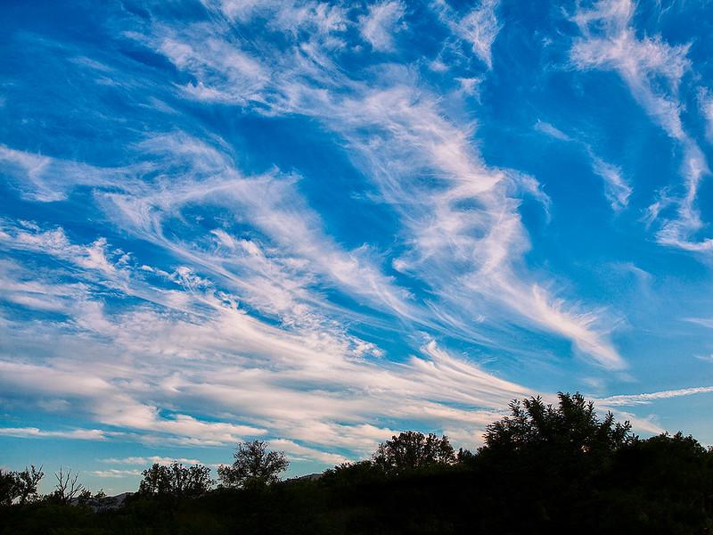 Il cielo su Figline