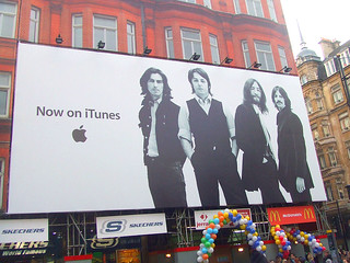 The Beatles - Billboard Ad
