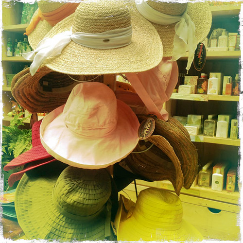 Sun Hats, Garden Hats, Hat Hats at the NYBG
