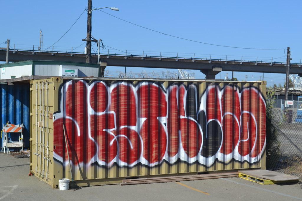 JIST, KELSO, Oakland, Graffiti, Street Art,
