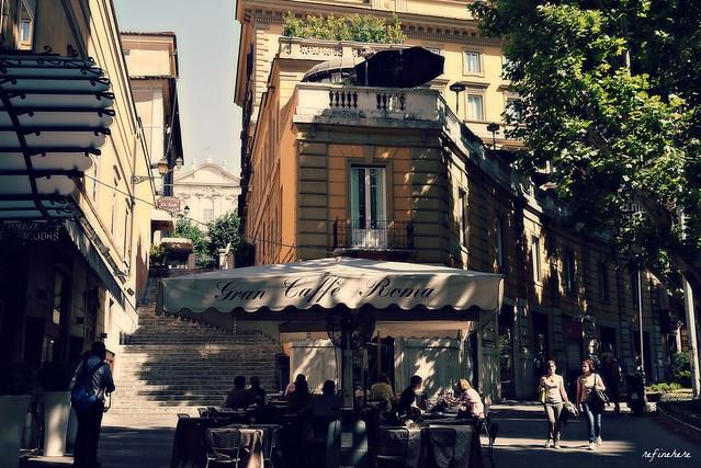{rome} - lovely walk in the morning