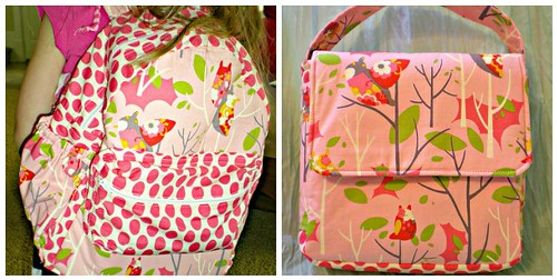 Coordinating Backpack and Lunchbox