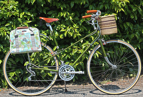 "1970 Raleigh Super Course Mixte ""Green Bandini"""
