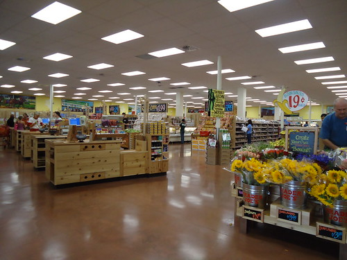 Trader Joe's interior in Louisville KY