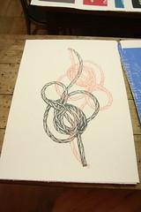 Knots - Screen print