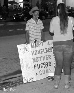 Annoyed and Homeless Mother Fu99er