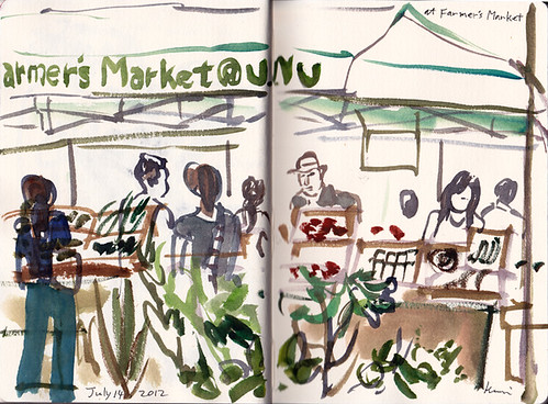 At Farmers Market