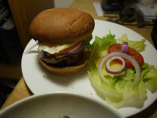 漢堡餐完成