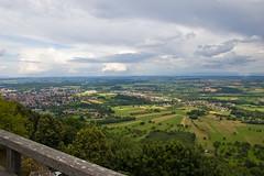 Vue depuis le Chateau du Haut Barr