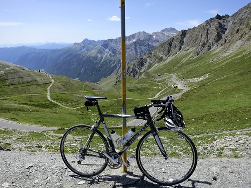 Col Agnel summit