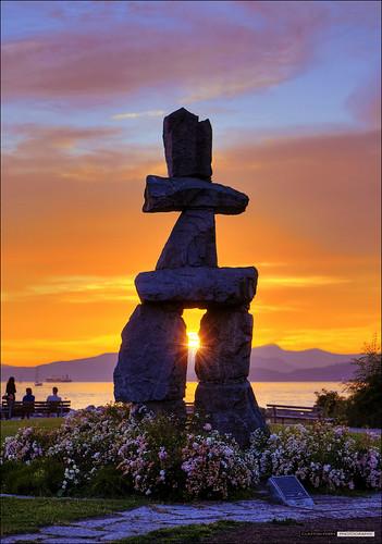 Inukshuk Sunset