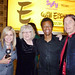 Laura Allred, Jackie Estrada, Phil LaMarr, Mike Allred at Eisners