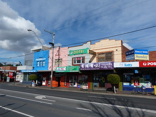 Shops, Box Hill