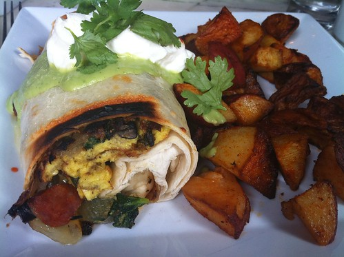 Breakfast Burrito at Marathon Grill