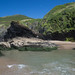 Hidden beach at Llangrannog