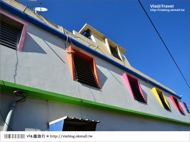 【台東新景點】台東大武彩虹街~全台最夢幻的彩色街弄!15