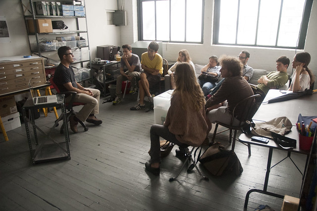 Mark Tribe talks to New York Arts Practicum