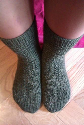 Hermione's Moss Socks