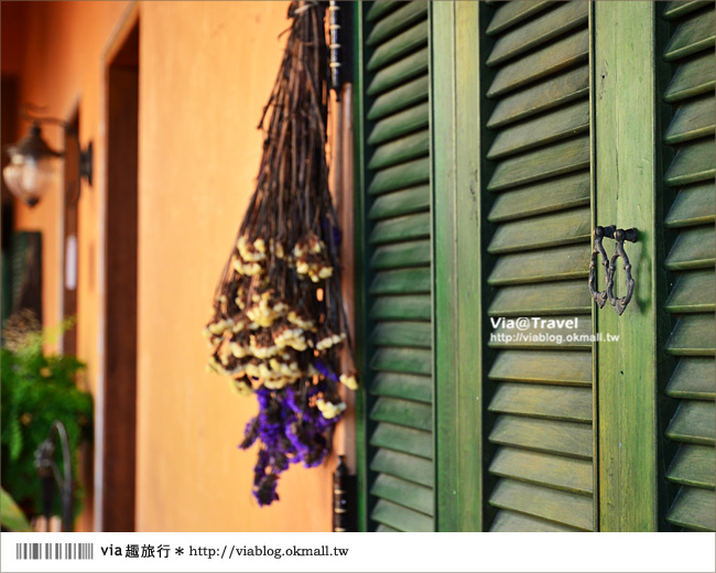 【台東民宿】台東願井民宿~在藍天下遇到南法風的浪漫莊園20