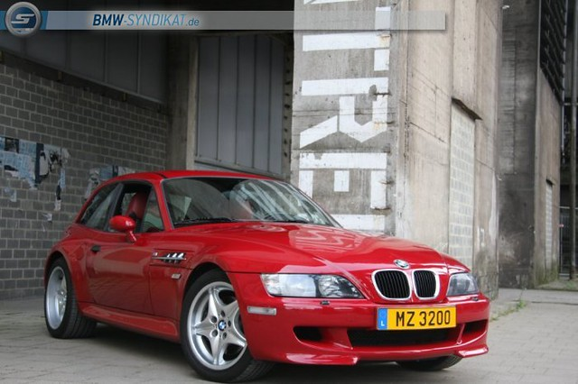 2000 M Coupe | Imola Red | Imola/Black